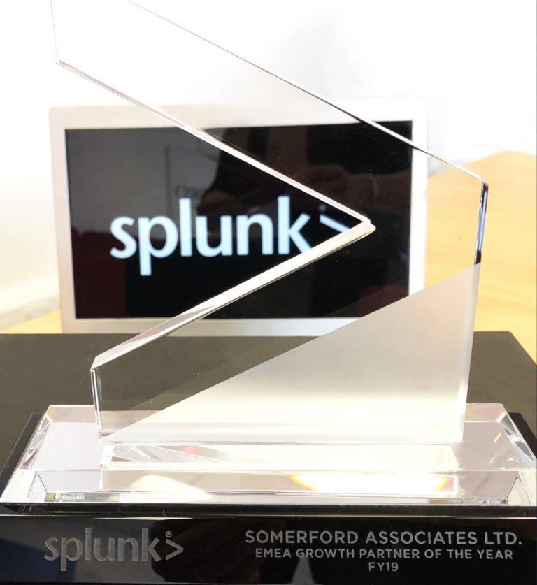 Somerford Recognised in 2019 Splunk Regional Partner Awards