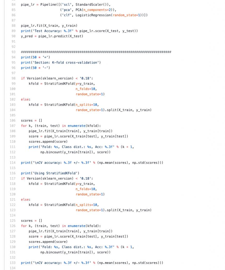 MLTK - Python Code
